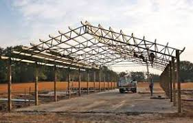 Truss Spacing Pole Barn Steel Roof Truss For 60 U0027 For Hay Barns Horse Stalls Agriculture