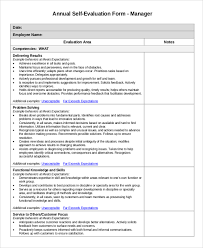 sample employee evaluation 7 examples in pdf word