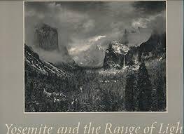 ansel adams yosemite and the range of light poster yosemite and the range of light by ansel photographs brooks paul