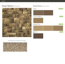 desert blend cobblefield cultured stone boral stone behr