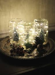hobby lobby battery fairy lights twinkly jars a winter wonderland scene battery operated lights