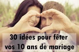 anniversaire mariage 10 ans 30 idées pour fêter vos 10 ans de mariage album photo aufeminin