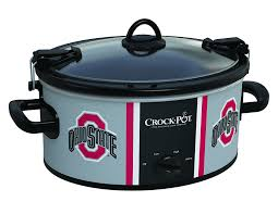 Osu Umbrellas by Crock Pot Ncaa 6 Quart Slow Cooker Ohio State Walmart Com