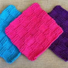 12 knit dishcloth patterns for beginners dishcloth knitted