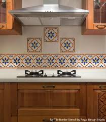 kitchen border ideas 14 pretty easy ideas for diy decorating with kitchen stencils