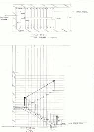 Stair Plan Small House Elevation With Boundary Wall External Staircase