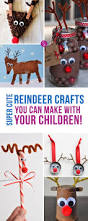 super cute reindeer crafts to make this christmas reindeer mom