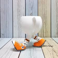 running tea cup walking pottery whimsical sneakers mug