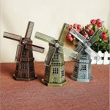 new windmill european style metal crafts decoration alloy
