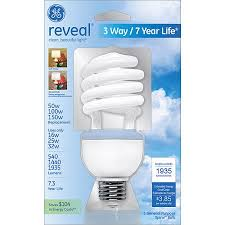 100w cfl light bulbs ge 62908 fle32htd3rvl cd twist medium base compact
