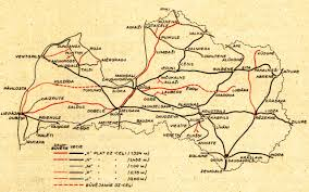 Rail Map Of Europe by Historical Map Railroads Of Latvia 1938 A Fairly Transit Maps