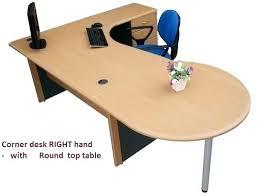 Corner Desk Beech Rounded Corner Computer Desk Corner Office Desks