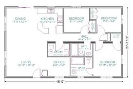 1300 sq ft house plans 4 bedroom on open floor plan homes with bat