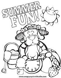 what is your favorite thing about summer angry squirrel studio