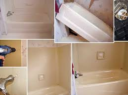 How To Fix A Cracked Bathtub Fiberglass Replace Or Repair A Mobile Home Bathtub Mobile Home Repair