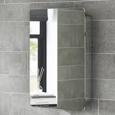 bathroom cabinets hib messina led illuminated slimline bathroom