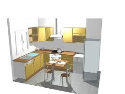 cuisine disposition décoration disposition cuisine en u 99 nimes 02070148 plan