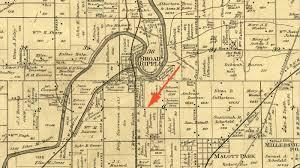 Indiana State Map Hi Mailbag 1215 Kessler Boulevard East Drive Historic