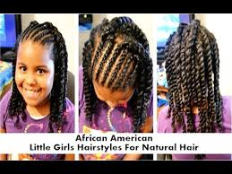 young black american women hair style corn row based african american little girls hairstyles for natural hair youtube