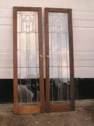 stained glass cupboard doors sold antique stained glass
