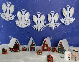 Christmas Angel Decorations Uk by Paper Snowflake Angels Early Years Inspiration