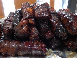 bacon wrapped ribs the broke baker