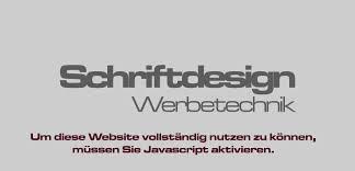 schrift design schriftdesign werbedruck und technik