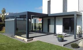 Glass Patio Covers Louvered Terrace Covering Camargue A Special Project With Joined