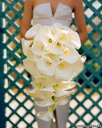 calla bouquet wedding bouquets martha stewart weddings
