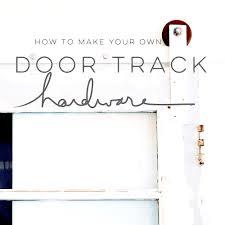 How To Make A Barn Door Track Outstanding Diy Panel Barn Door Plus Stainless Steel Sliding