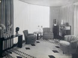 livingroom deco 1930s american living room house of tomorrow living room