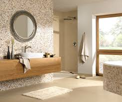badezimmer in braun mosaik ideen kühles badezimmer in braun mosaik badezimmer gold mosaik