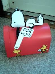 102 best snoopy mailboxes images on brown