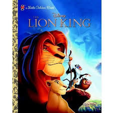 lion king golden book walmart