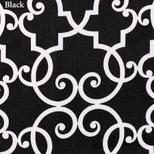 Black And White Valance Woburn Scalloped Window Valance