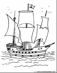 marvelous pirate ship coloring pages printable pirate ship