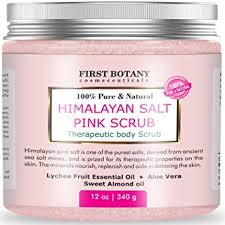 himalayan salt l amazon amazon com 100 natural himalayan salt full body scrub 12 oz with