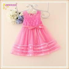 many color summer clothing kids safe design kid dress cheap