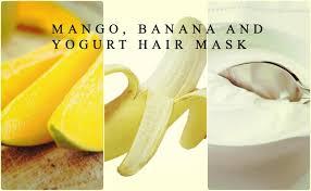 banana hair republic 101 diy summer mango and banana hair mask