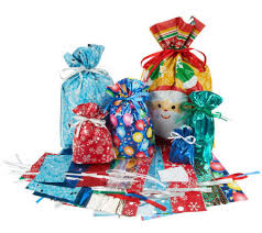 kringle express 52 e z drawstring gift bag set