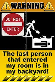 bedroom door signs related pictures keep out signs for