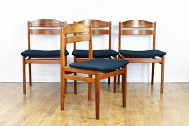 mid century scandinavian chairs set of 4 for sale at pamono