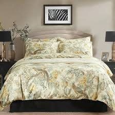 Kohls Comforters Peacock Decor For Bathroom Pea Bedding Set Feather Print Sets