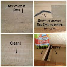 How To Clean The Tops Of Photo In Greasy Kitchen Cabinets Wooden