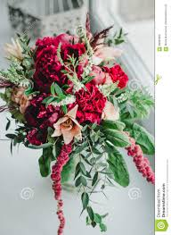 wedding flowers greenery bouquet of wedding flowers and beige peonies