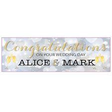 wedding congratulations banner wedding banners ebay
