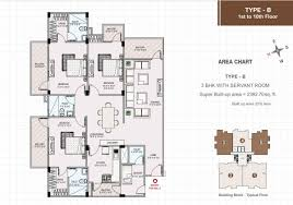 Mandir Floor Plan by Murli Heights Premium 3 Bhk And 4 Bhk Apartment