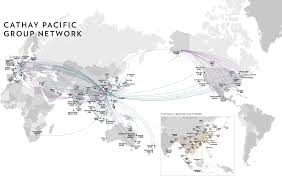 Lufthansa Route Map by The Future Of Freight U2013 Cargo Clan