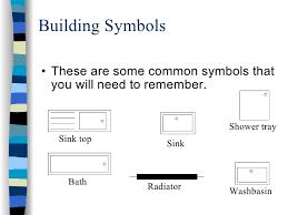 Floor Plan Shower Symbol Signs U0026 Symbols