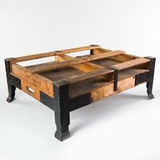 Table De Salon Industrielle by Table Basse Industrielle Vintage Meubles En Bois à 149 00 U20ac Chez